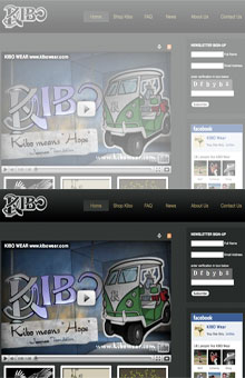 Thumbnail image of KIBO Wear website project