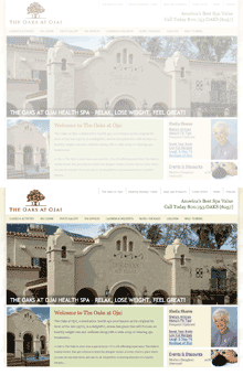 Thumbnail image of The Oaks at Ojai website project