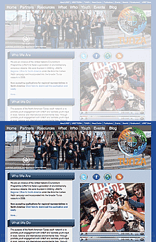 Thumbnail image of RONA UNEP website project