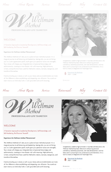Thumbnail image of The Wellman Method website project